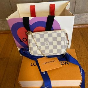 Brand new Louis Vuitton mini pochette